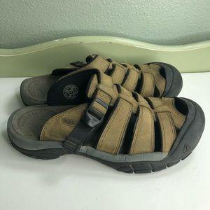Keen sandals slides women size 10 beautiful brown